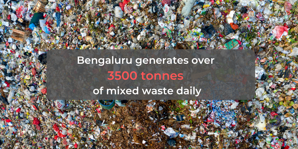 Waste generated in Bangalore