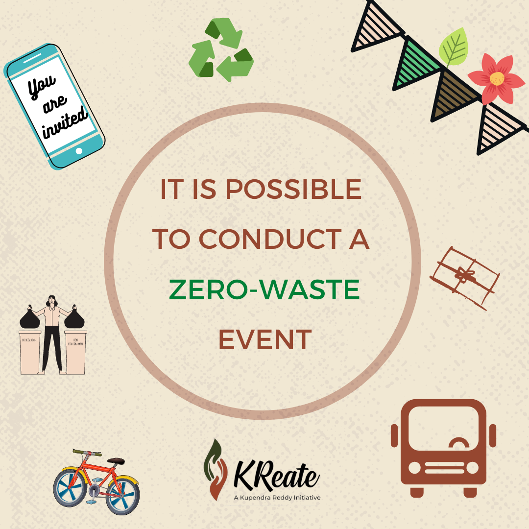 conduct a zero-waste event